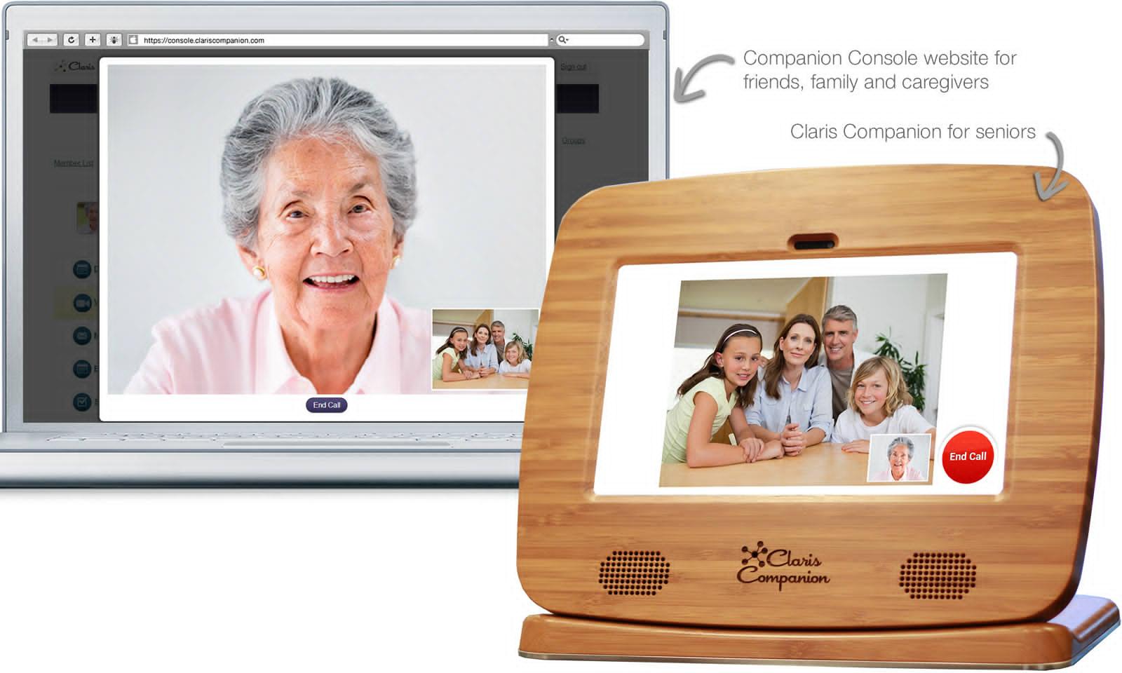 claris companion, assistive technology for seniors, gadgets for seniors; live your retirement dot com