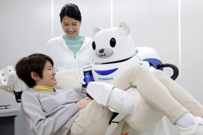robear; palro; japan care robot; carebot; technology; live your retirement