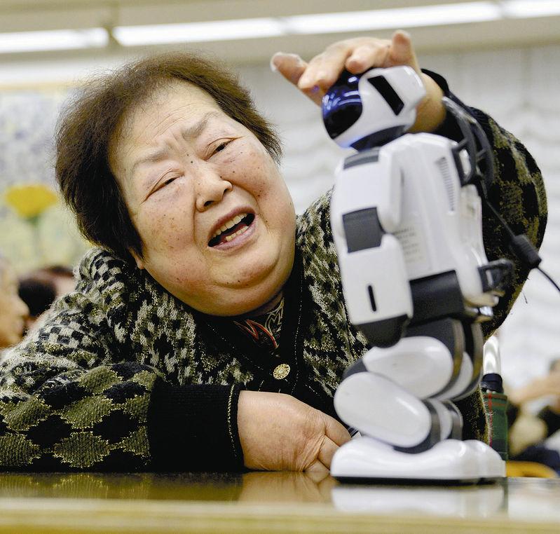 palro; japan care robot; carebot; technology; live your retirement