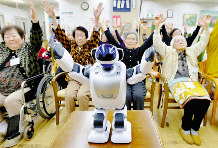 Carebots in Japan Help Solve Caregiver Shortage