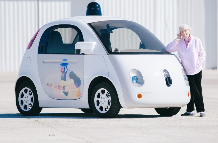 google car; technology for seniors; live your retirement