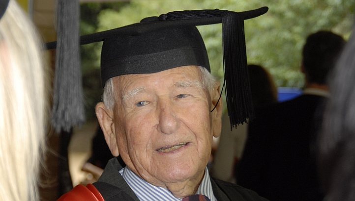 Allan completed his education and masters degree at 97