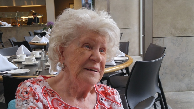 Alma completed her education and degree at 89