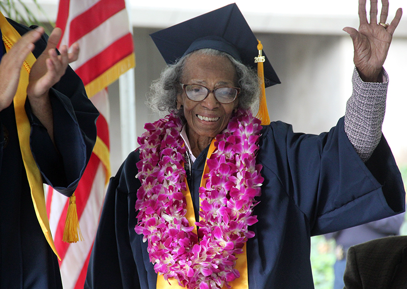 Seniors Who Completed Their Higher Education in Their 90s