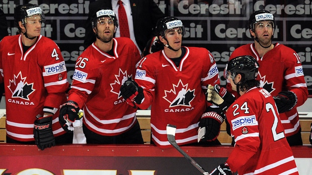 Canadian hockey players