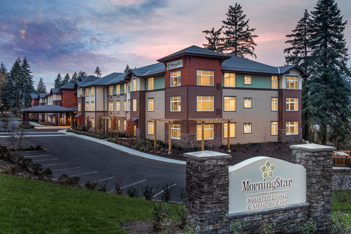 MorningStar Senior Living in Portland and Colorado